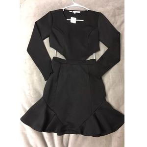 Lovers & Friends Black Long sleeve Dress